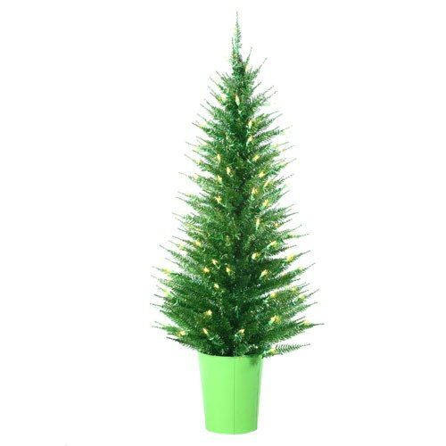 Sterling Inc Tinsel Tree Vogue Tinsel Artificial Christmas Tree