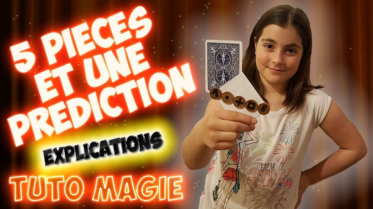 tour de magie 5 pieces