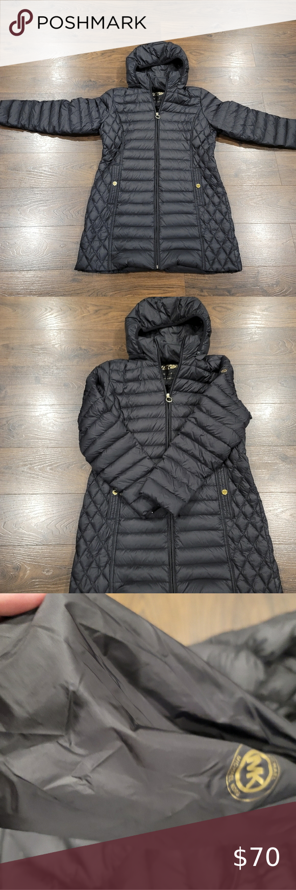 Women S Large Michael Kors Coat In 2020 Coats For Women Michael Kors Michael Kors Jackets [ 1740 x 580 Pixel ]