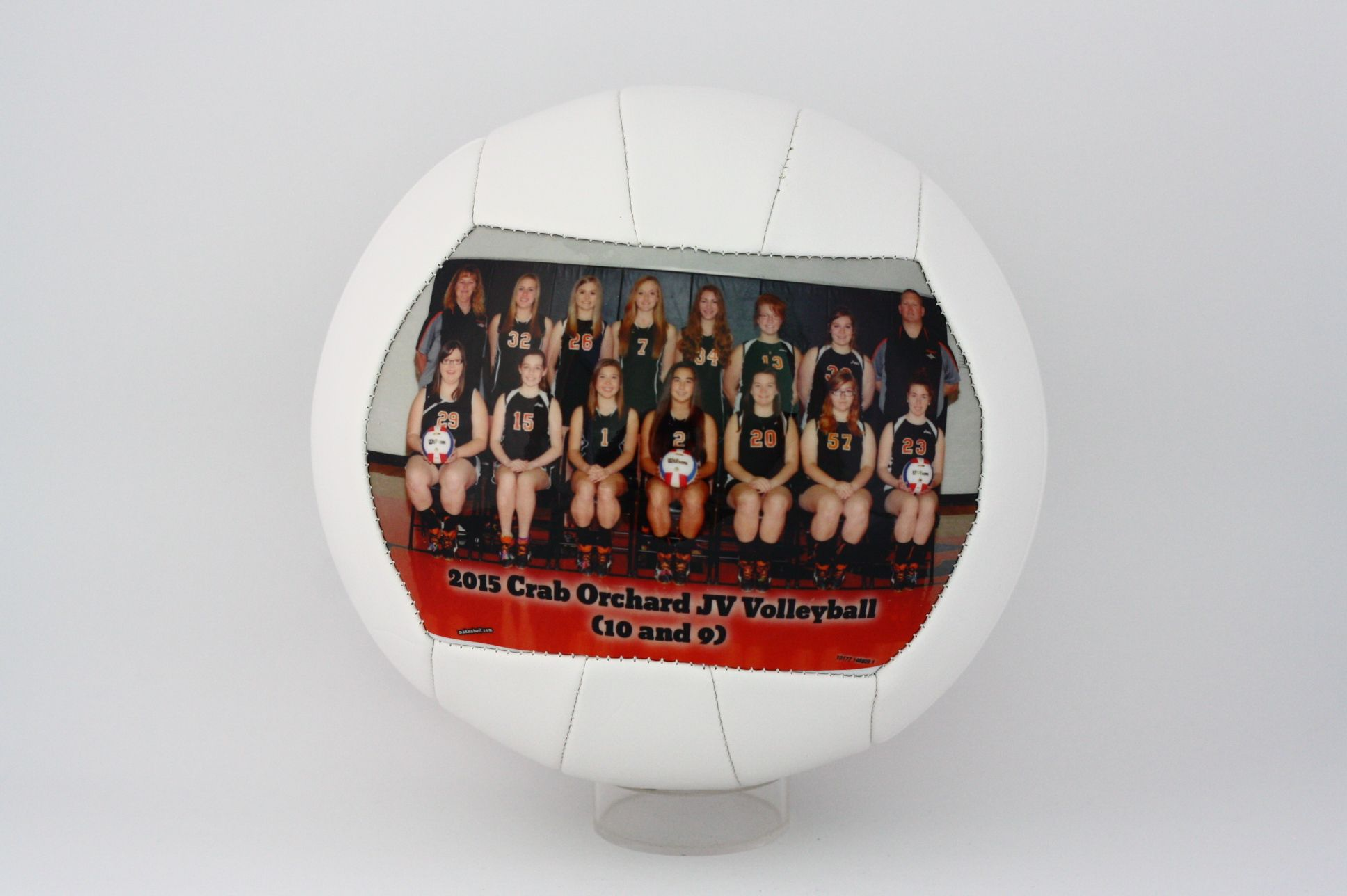 Customized Volleyball For Senior Night Perfect Gift For Volleyball Players Coaches And Teams Only At Make A Ball Volleyball Gifts Coach Gifts Sports Gifts