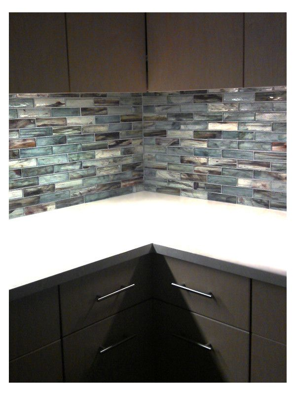 New York In 2019 Glass Backsplash Kitchen Mosaic