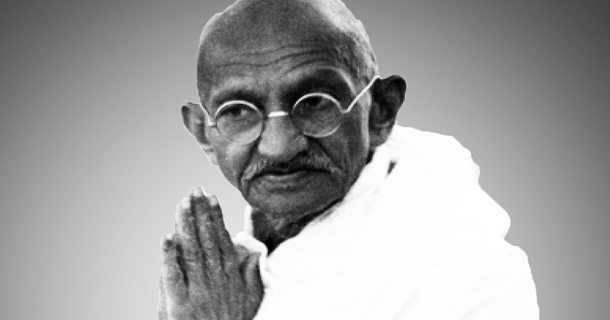On October 2, 1869, Mohandas Karamchand Gandhi was born in