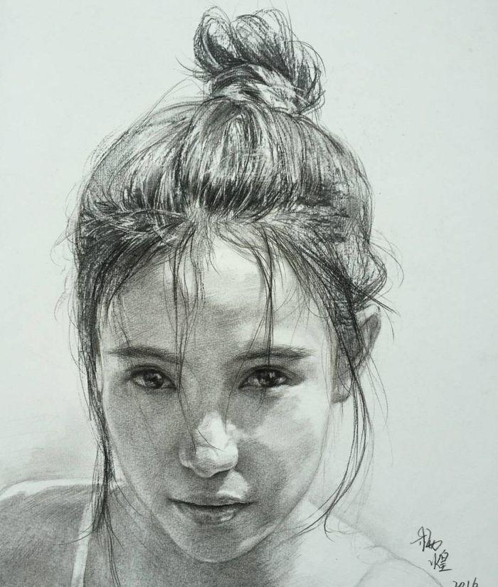 1001 + images du dessin au fusain et les techniques à