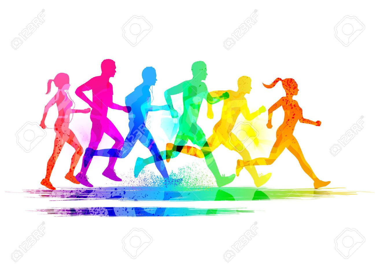 Runners Group Stock Photos Images, Royalty Free Runners