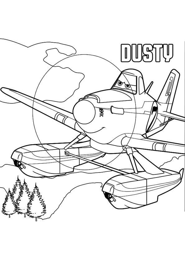 Kleurplaten Disney Planes.Dusty Kleurplaat Color Books Free Disney Coloring Pages Disney