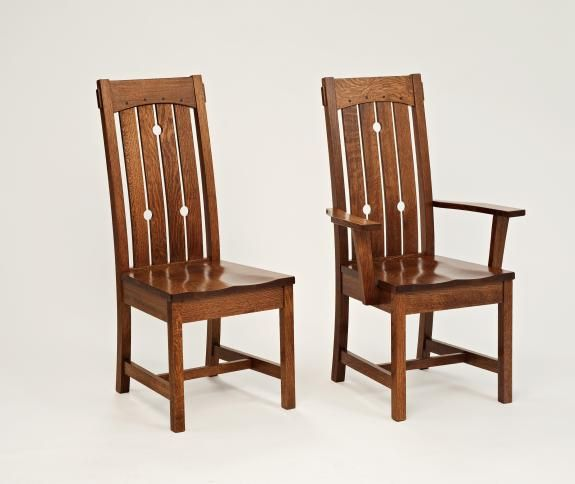 Beau 569 Douglas Dining Chair | Shaker And Mission Dining Chairs | Clear Creek  Amish Furniture