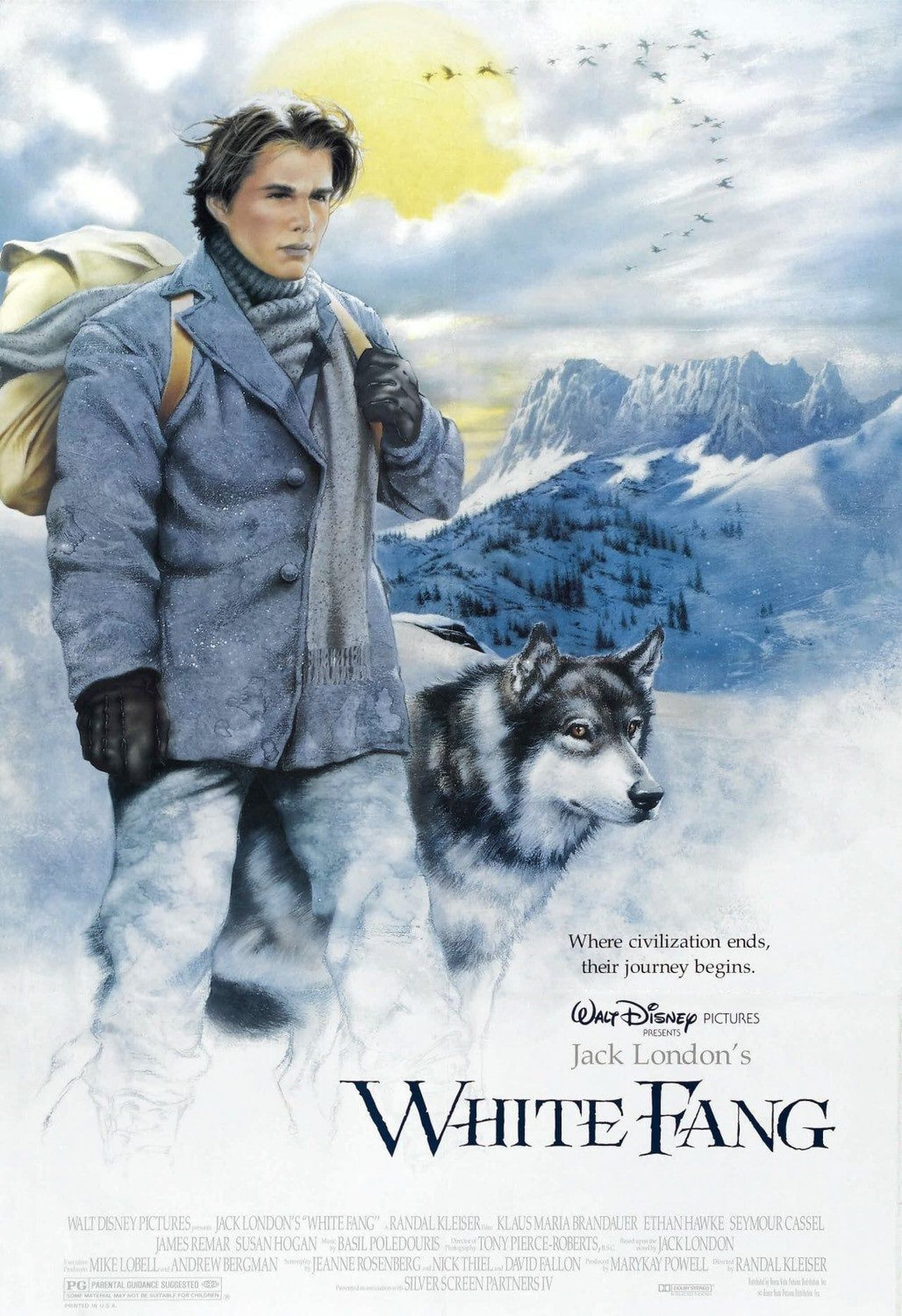 Worksheets White Fang 8th Grade white fang 1991 jack londons classic adventure story about the 1991