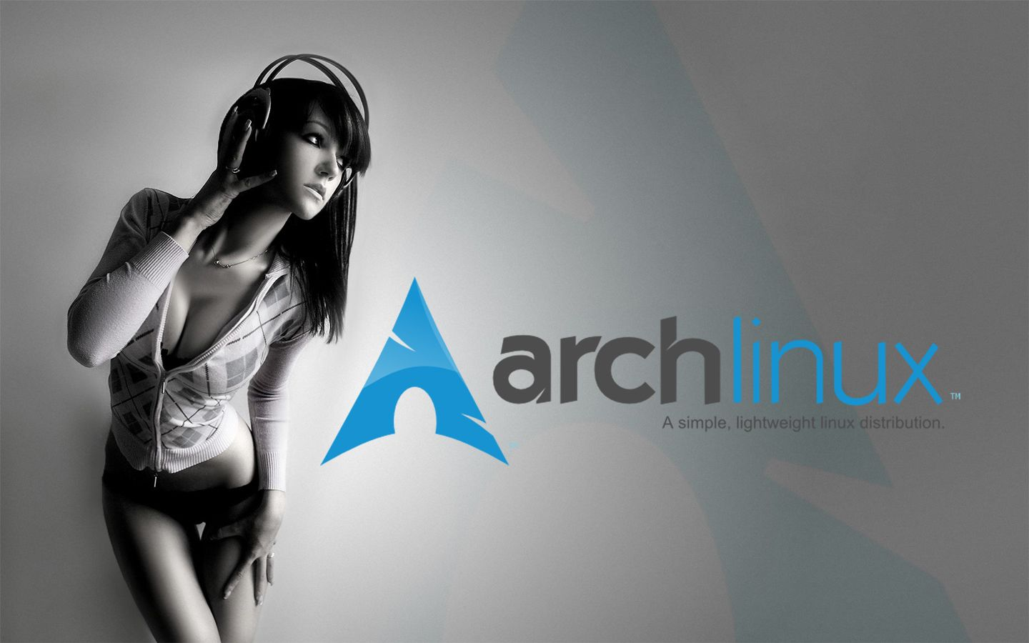 Arch Linux girl