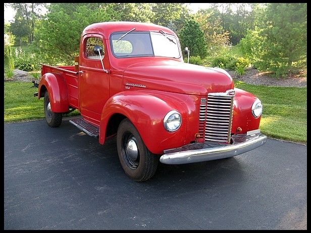 1949 International Kb1 Pickup 7 250 International Truck Motor Truck International