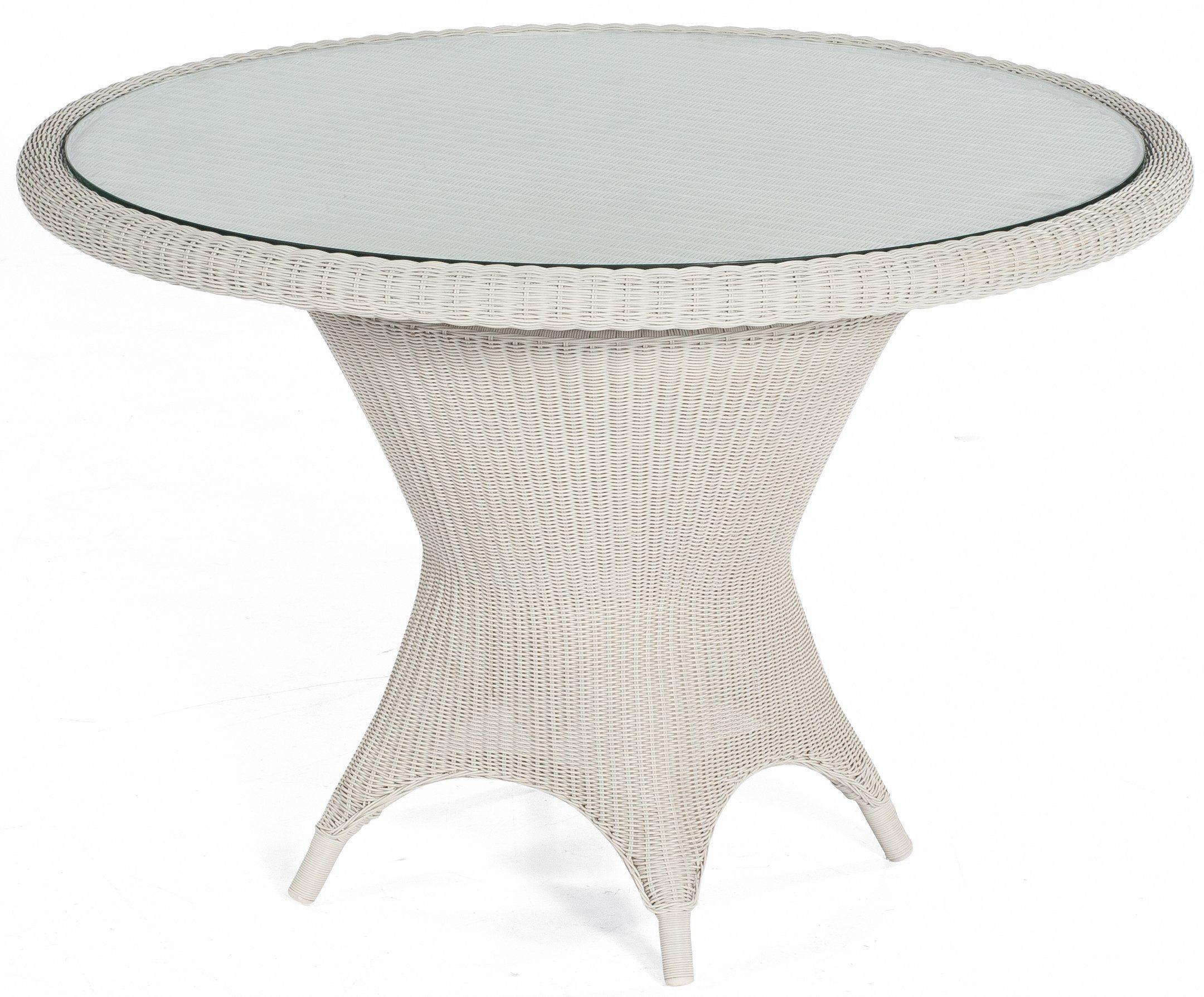 Geflecht Gartentisch Im Antiklook Gartentisch Gartenmobel Tisch