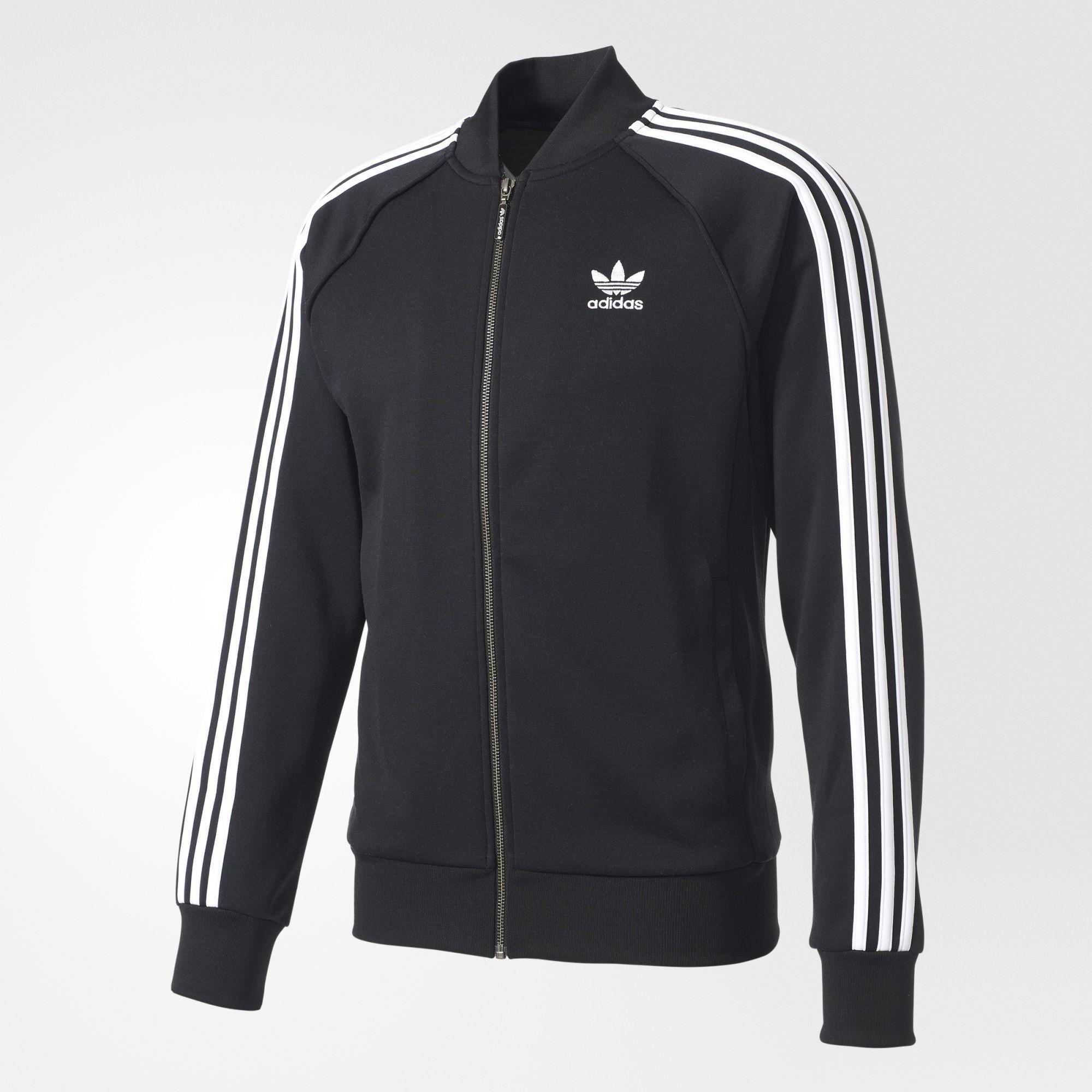 adidas Originals Zip Crew SST TT 2.0 BlackBlack