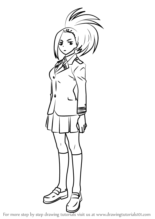 My Hero Academia Coloring Pages Sue In 2020 My Hero My Hero Academia Anime Character Drawing