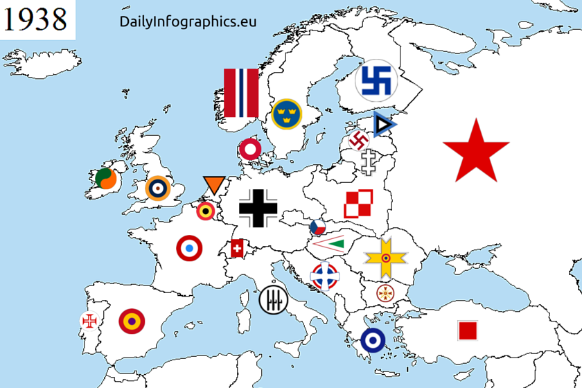 The european air force roundels from before the second world war historia gumiabroncs Choice Image
