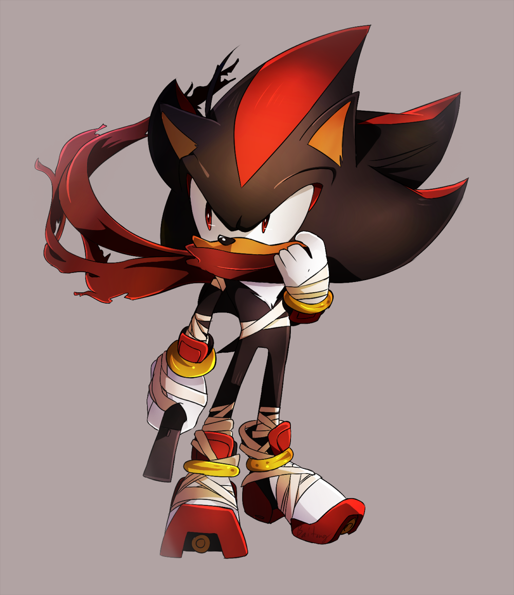 The Sonic Boom version of Shadow by Baitong9194.deviantart ...