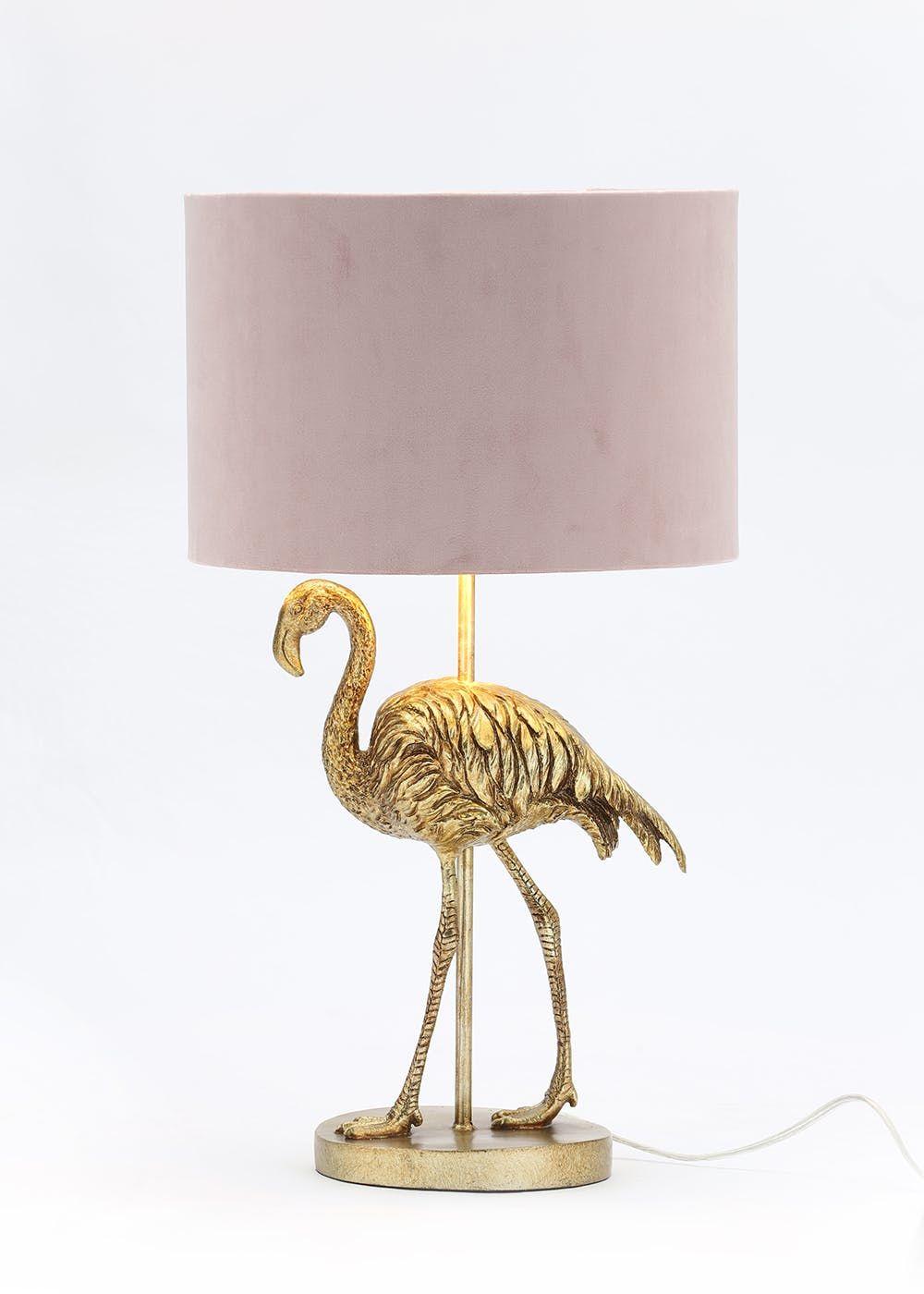 New Ibis Ostrich Sculpture Table Lamp