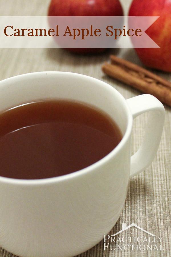Caramel Apple Spice Recipe {Starbucks Copycat} - Practically Functional