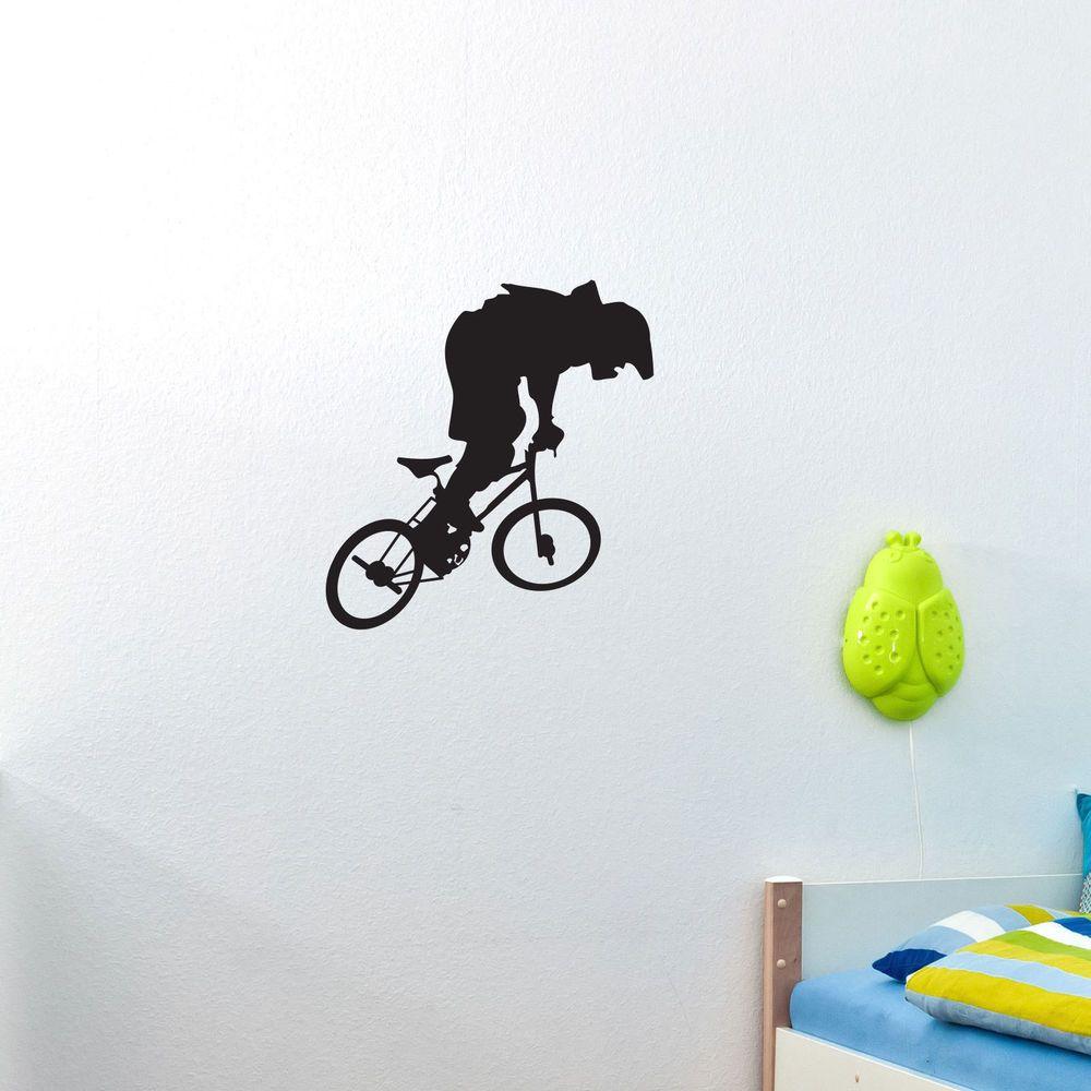 BMX BIKE - Vinyl Wall Art Decal Sticker Boy room decor #Oracal ...
