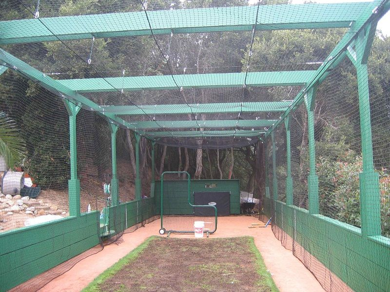 Could We Have A Mesh Batting Cage Idea Board For Brookwood - Backyard batting cages for sale