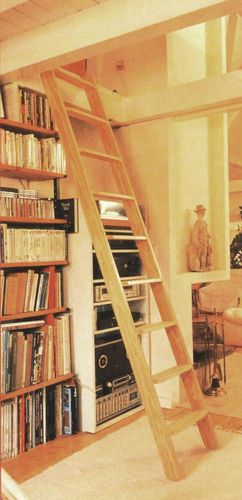 Dolle Straight Flight Wooden Fixed Loft Ladder | EBay