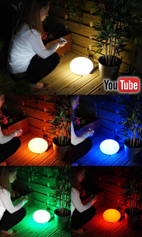 Oval 28 | Easy to install safe 12V plug & play decorative garden lighting  video installation