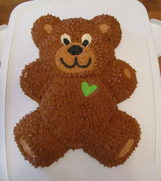 Teddy Bear Cake For Birthing Class S Baby Shower Cakes I