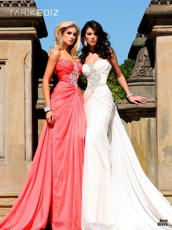 deff4d6a2 Shes a Lady glamour dresses featured fashion Evening Gowns The white dress  would be an epic wedding dress!