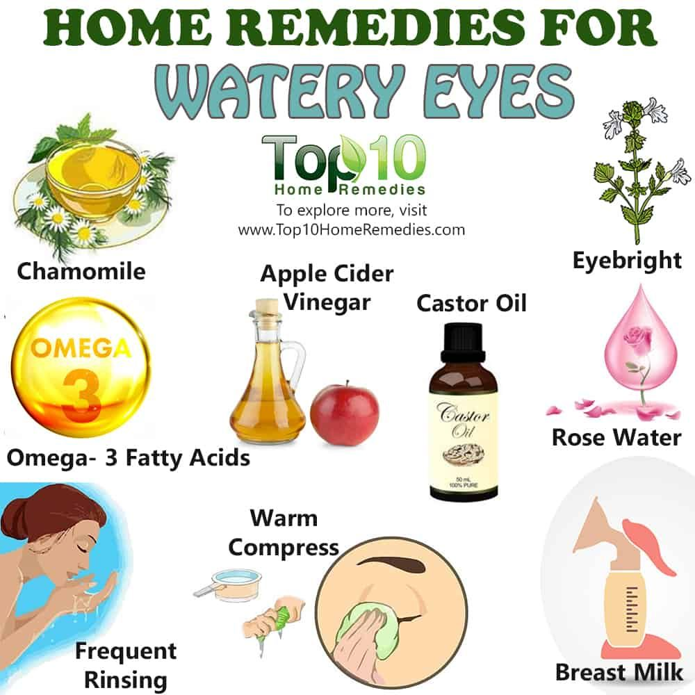 How To Stop Watery Eyes 5 Home Remedies Emedihealth Watery Eyes Dry Eye Remedies Home Remedies For Allergies