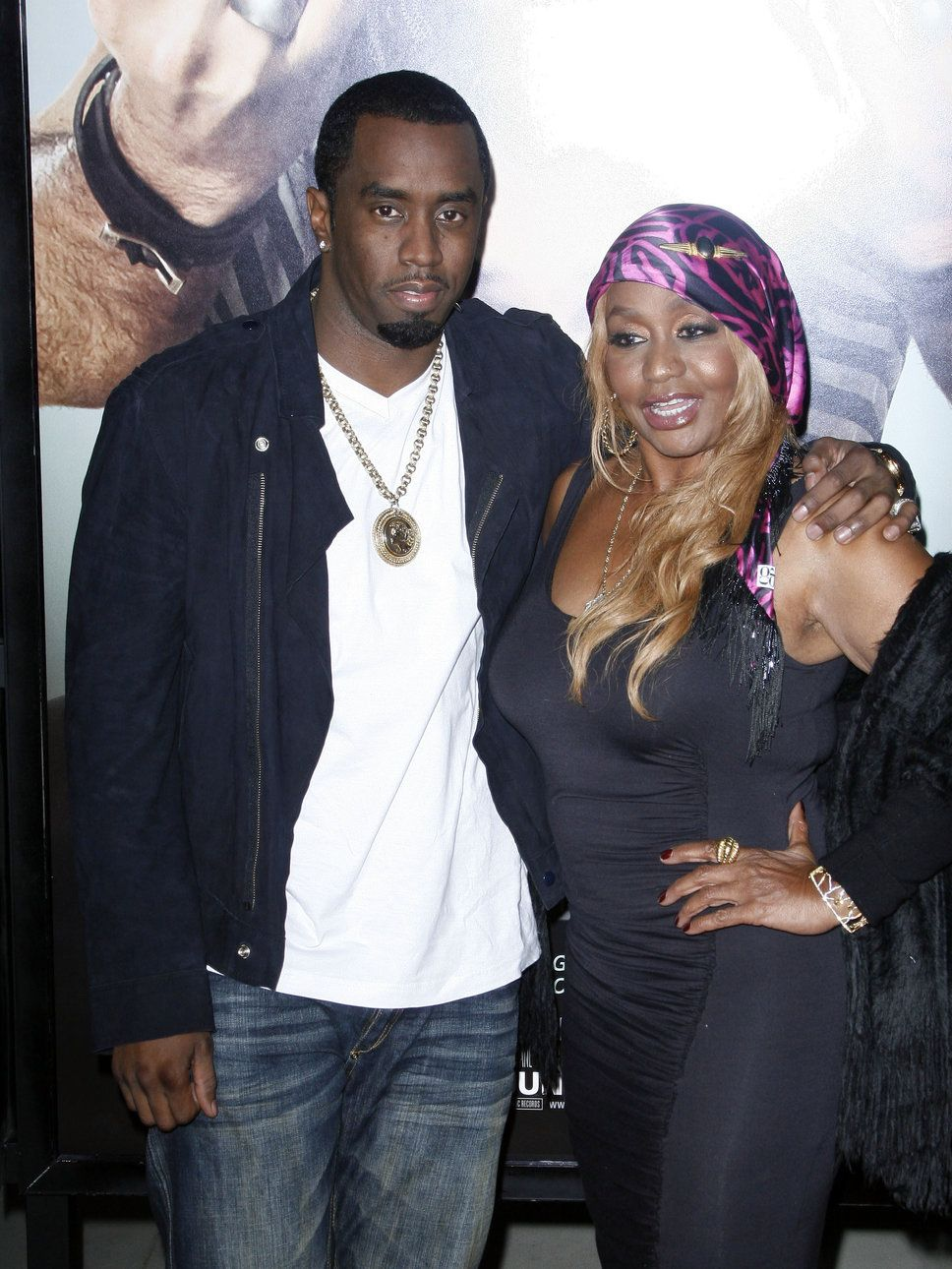 Sean Combs Sister Sean quotPDiddyquot Combs and Janice his mom