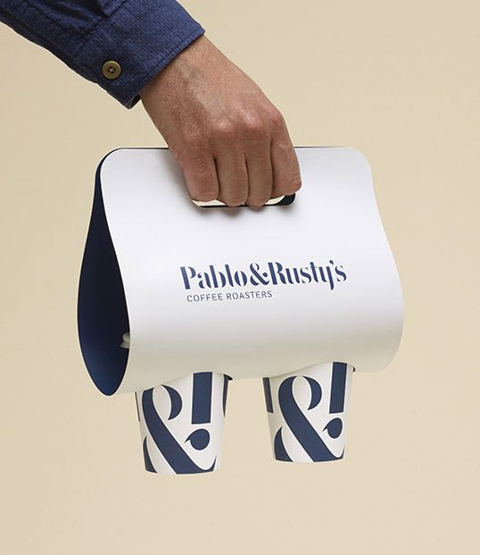 Pablo Rusty S Modern Packaging Design Packaging Design Inspiration Coffee Cup Design