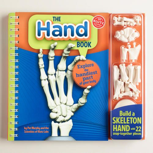 One of my favorite discoveries at WorldMarket.com: Klutz The Hand Book