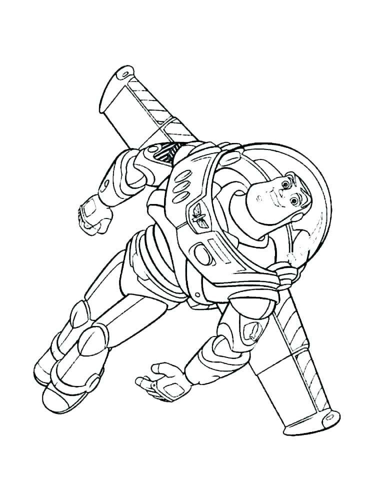 Buzz Lightyear And Woody Coloring Pages. Buzz Lightyear is