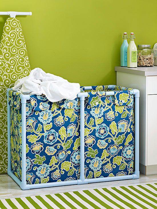 Learn how to make this pretty diy laundry hamper canasto para ropa learn how to make this pretty diy laundry hamper solutioingenieria Choice Image