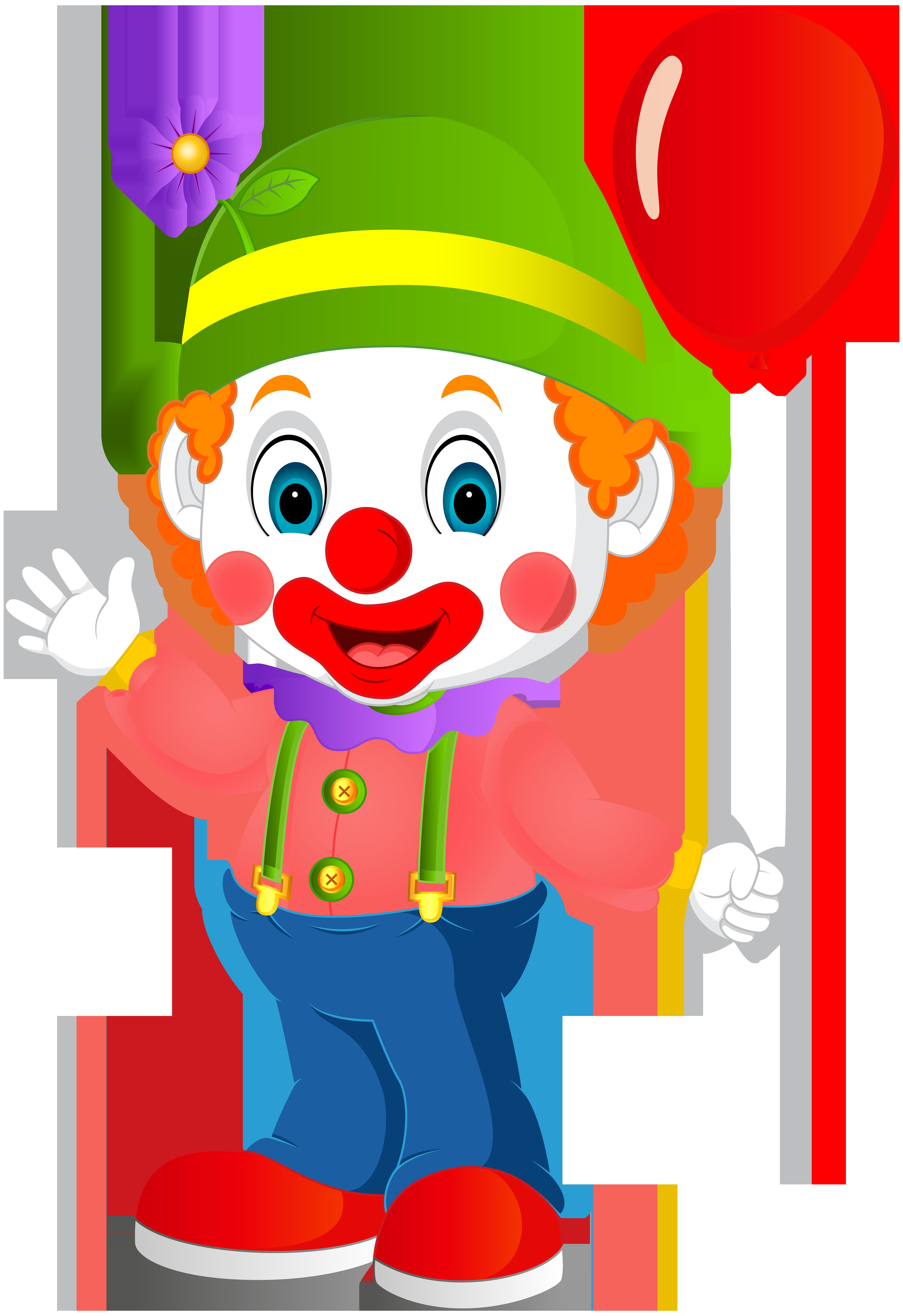 cute clown transparent png clip art image edson