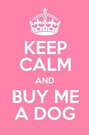 #buy me a dog