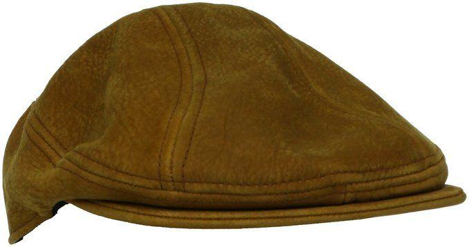 6ab31cc7d Stetson Cloth Men's Distressed Leather Ivy Hat, Black, Small/Medium ...