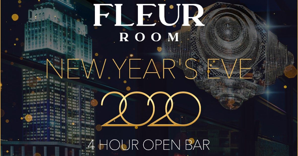 New Year S Eve 2020 Tickets The Fleur Room New York Ny
