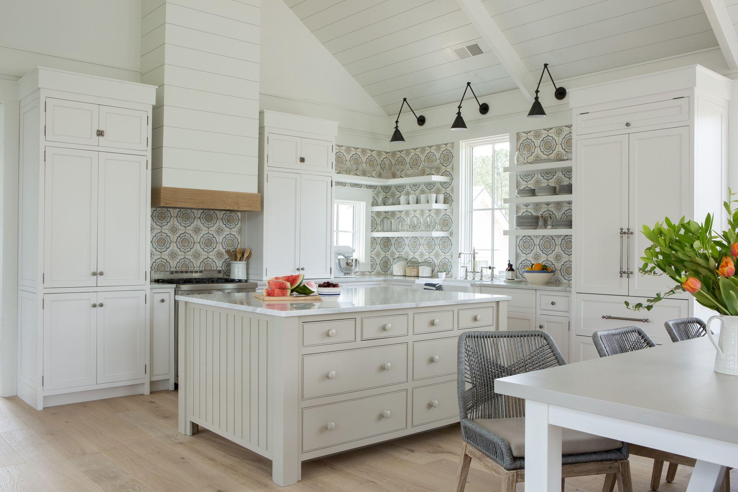 coastal cottage interior design inspiration part 1 get the look white cottage kitchens on kitchen interior farmhouse id=85508