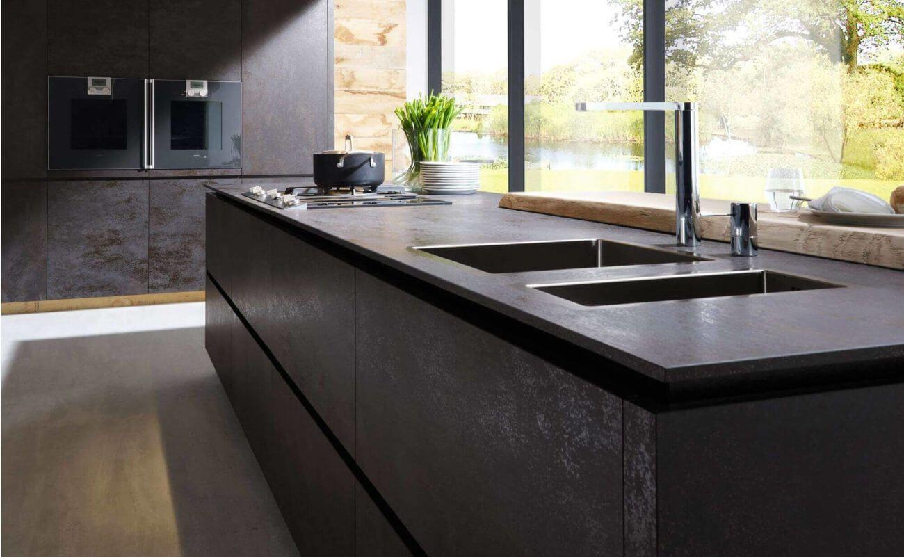 Arbeitsplatte Küche Dünn   Kitchen interior modern luxury, Kitchen ...