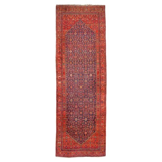 Wannenes Art Auctions   cm 600X200 A MALAYER CARPET, WEST PERSIA, CIRCA 1920