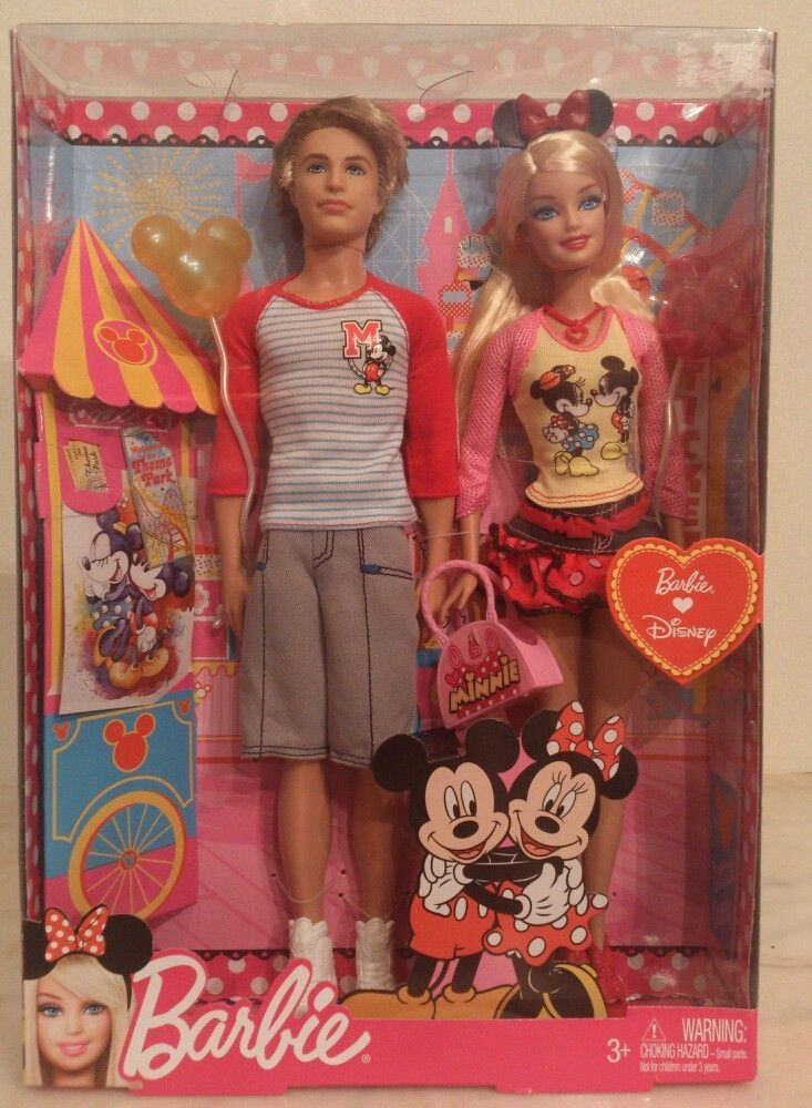 Barbie Loves Disney Set. New in factory box with Ken  New in box #barbie #DollswithClothingAccessories