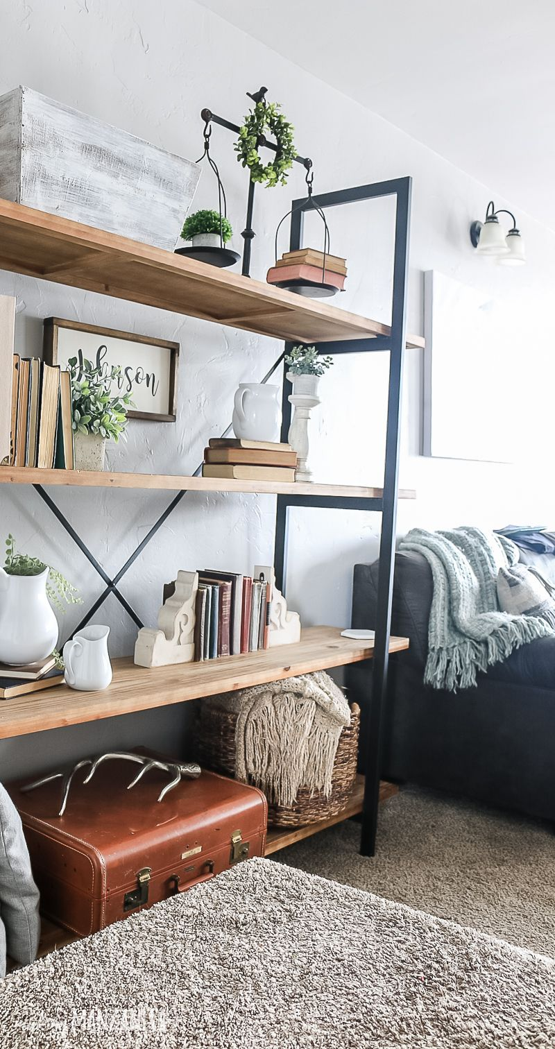 How To Decorate Shelves - Making Manzanita