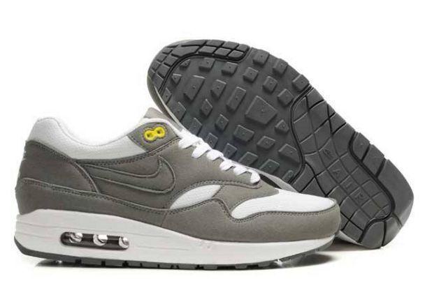 the latest 6ec31 8353f ... czech nike air max 1 zapatos para hombre grises blancos 548ec b2aca