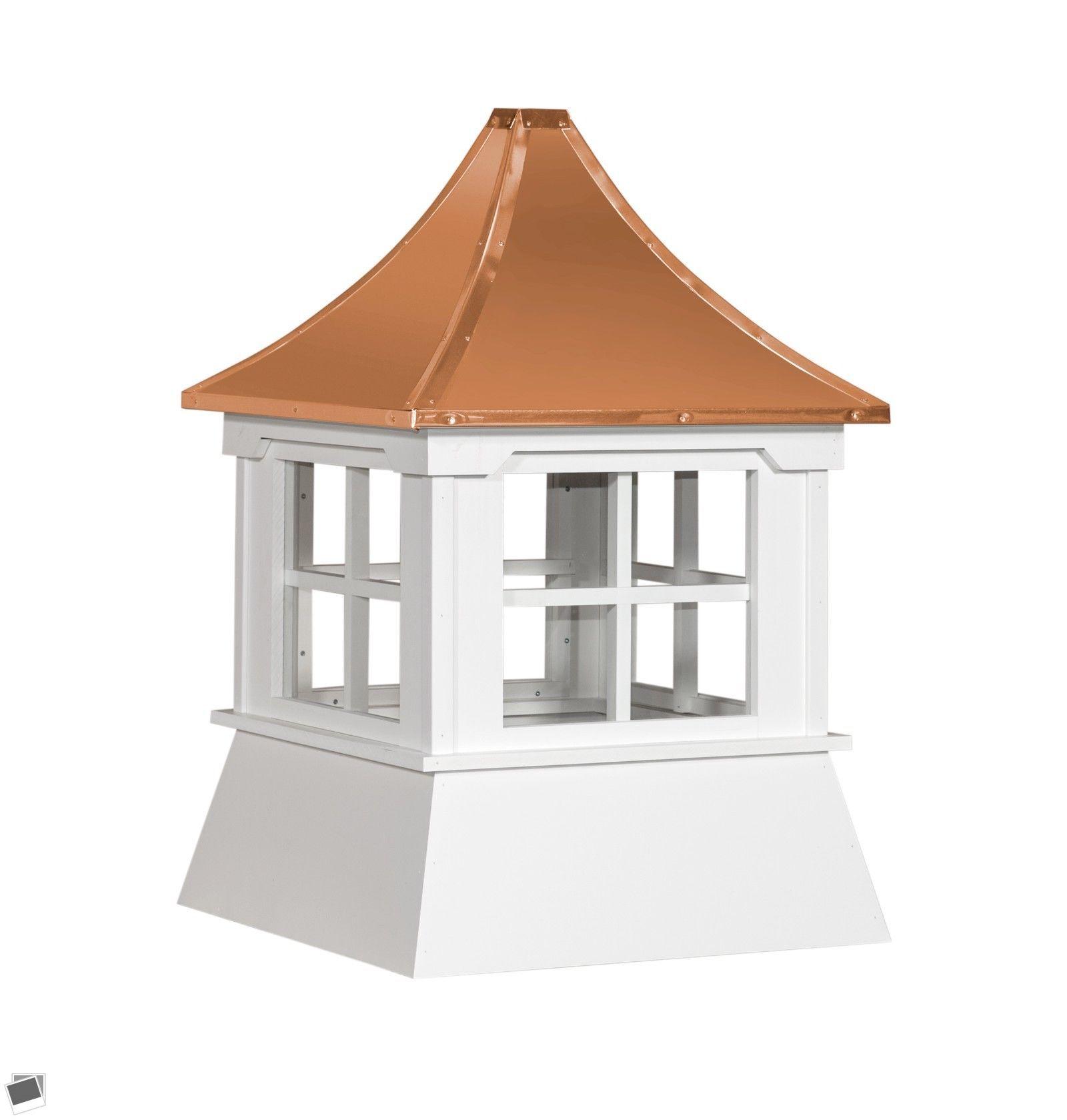 Weathervanes 20512 Cupola 30 Windows Copper Pagoda Roof Buy It Now Only 990 On Ebay Weathervanes Cupola Windows Copp Cupolas Copper Roof Vinyl Sheds