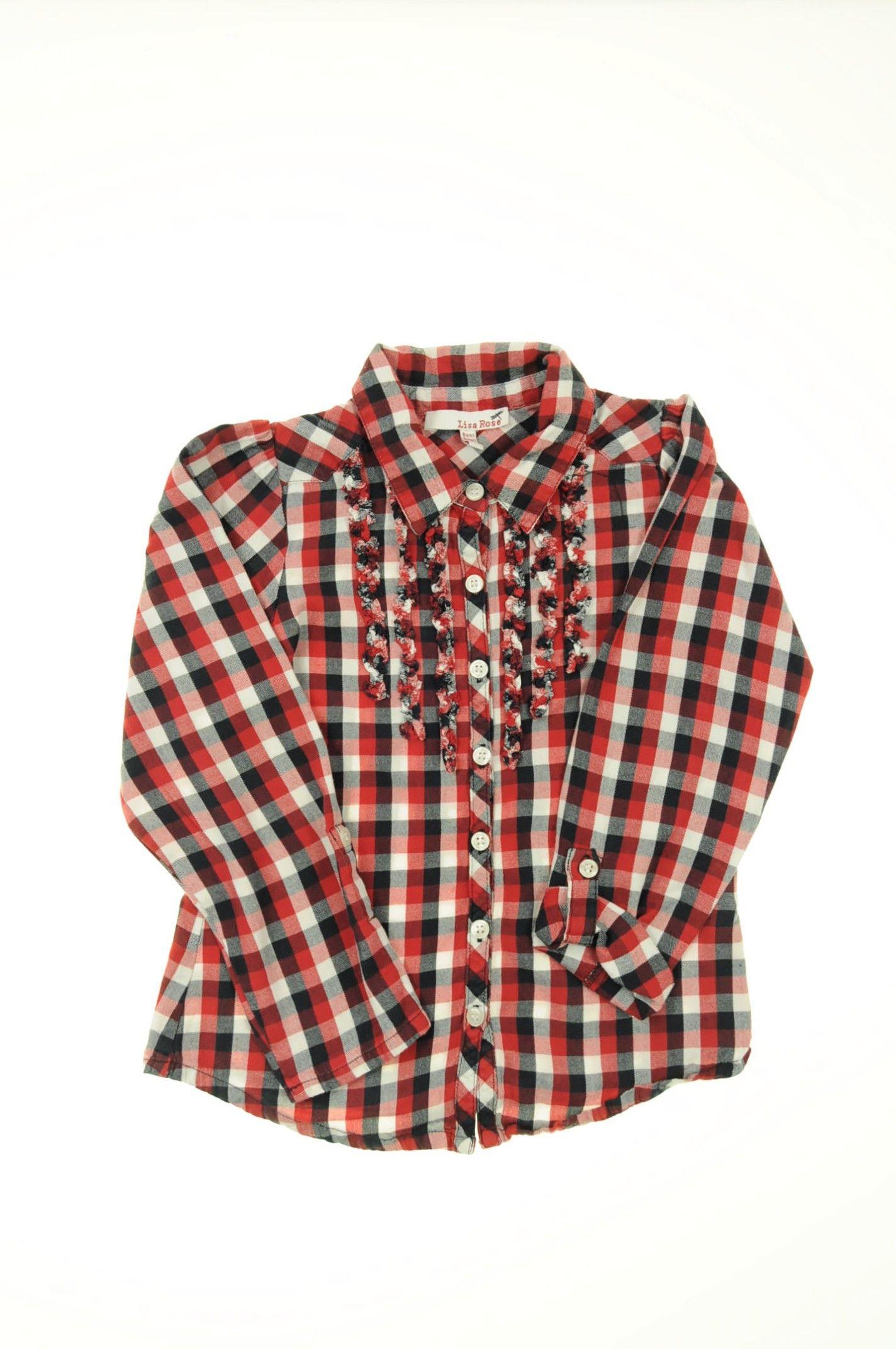 df084fa7c08d6 Chemise de la marque Lisa Rose en taille 8 ans - Affairesdeptits vetement  occasion enfant bebe pas cher