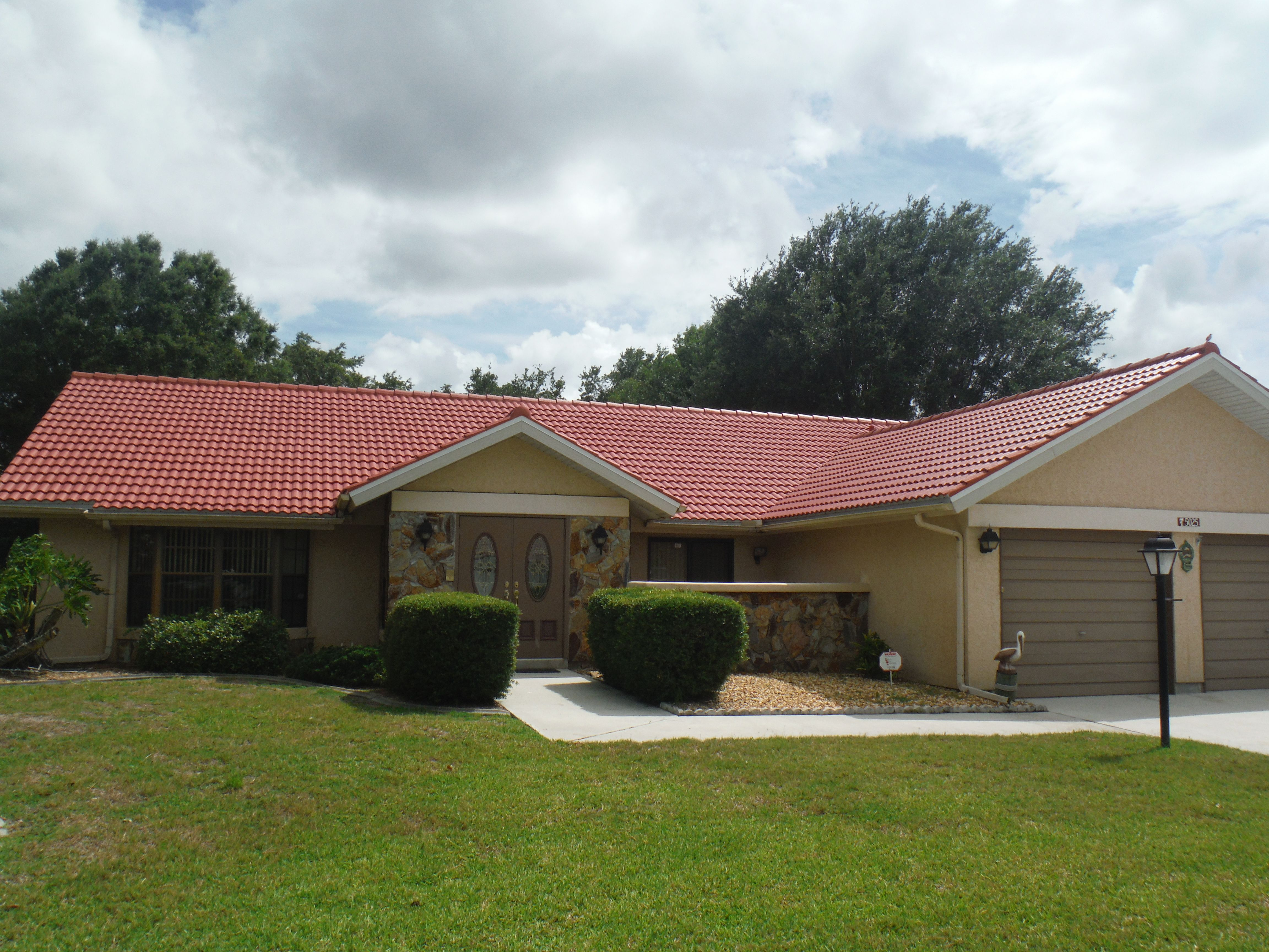 Mark Kaufman Roofing Reroof Eagle Malibu Tile Color Cayenne