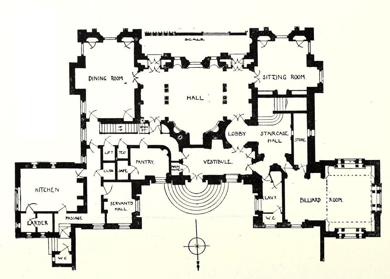 Architectural Drawings Models Photos Etc Architecture Mapping Floor Plans Vintage House Plans
