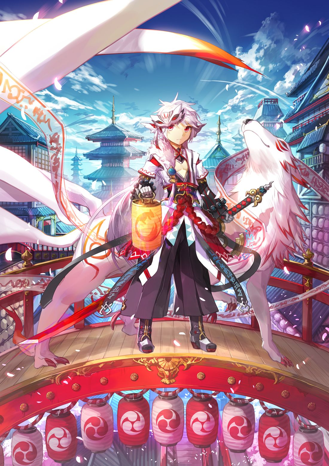 Elsword, Red Millennium Fox Costume Anime, Lễ hội