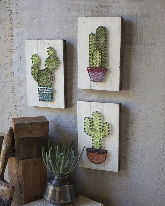 Cacti Cactus Mexican Wall Art Affiliate Home Decor Bohemian
