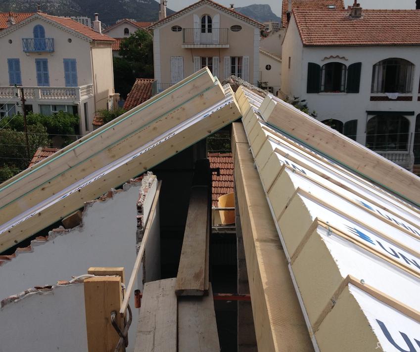 Travaux de toitures r alis s par renov maison sud construction r novations toiture - Renov maison sud ...
