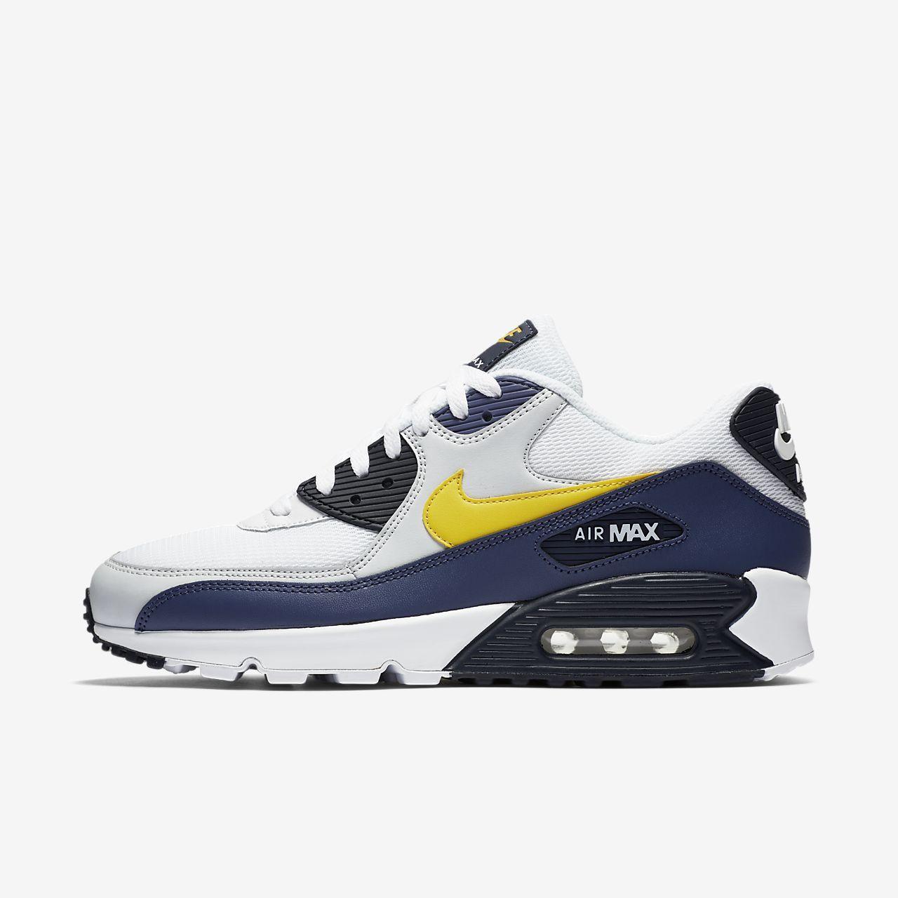 Mens Shoes Nike Sportswear Air Max 90 Essential Grey